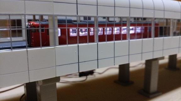 キハ40系高架駅