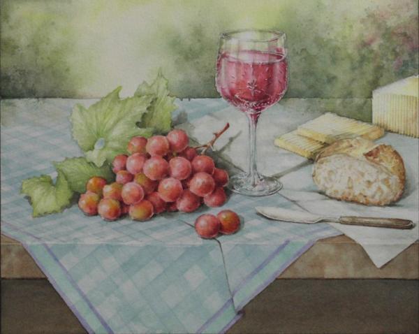 ブドウとワインと 1608