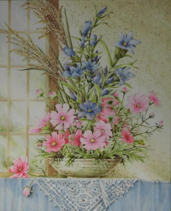秋の生け花 1610