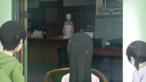 ふらいんぐうぃっち 第8話 常連の鳴き声 アニメ実況 感想 画像