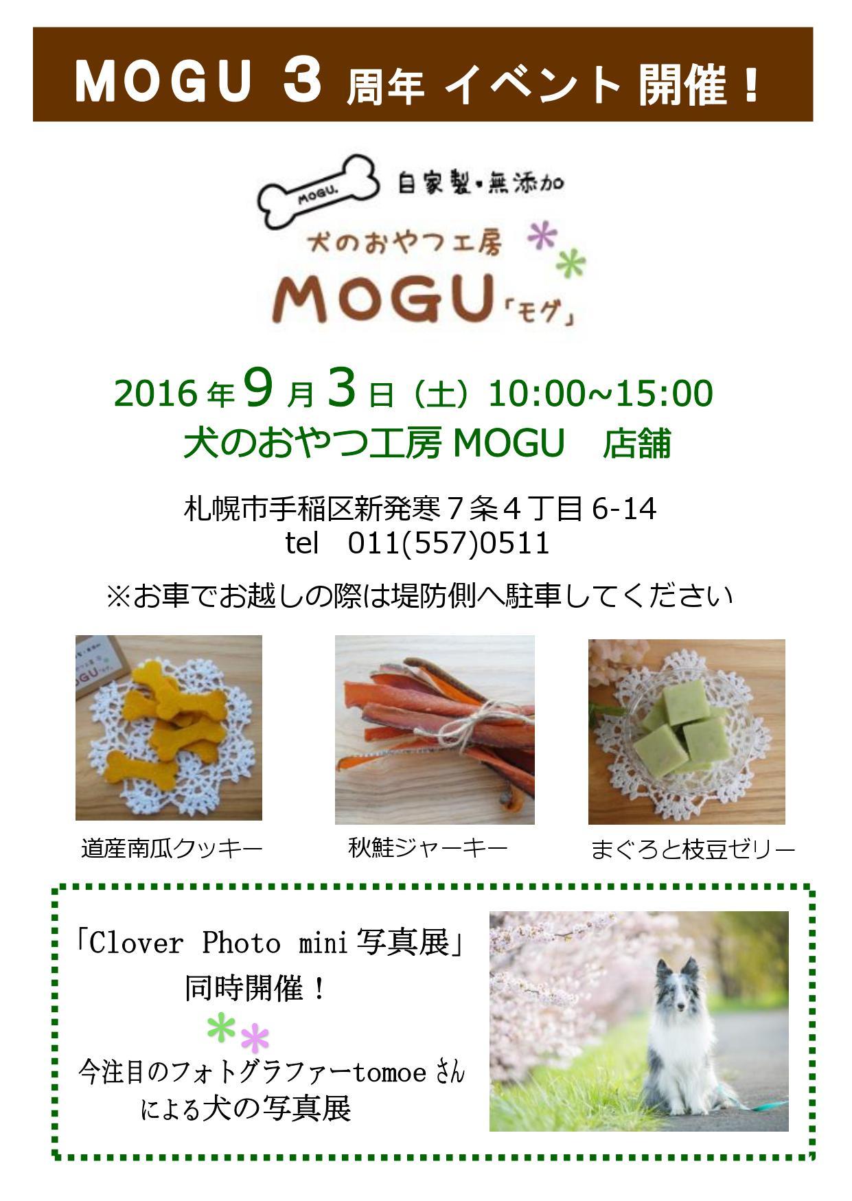 MOGU3周年表