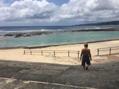 瀬田海海浜公園で海水浴1