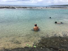 瀬田海海浜公園で海水浴2