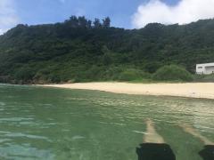 瀬田海海浜公園で海水浴3