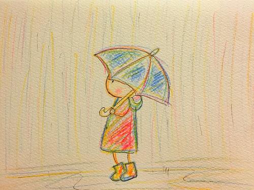 止まない雨2
