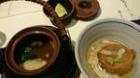 梅の花 松茸土瓶蒸し