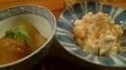 柿の白和えと冬瓜利休味噌