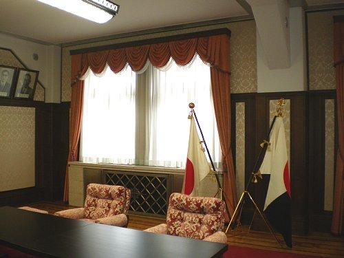 横浜税関・次室