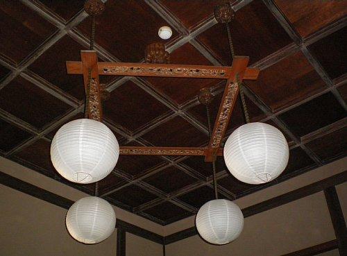 東伏見宮葉山別邸・和室照明