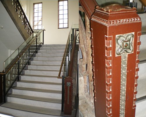 学習院・南1号館階段