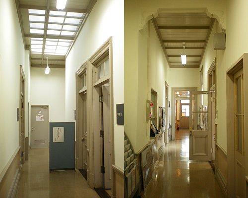 北別館廊下