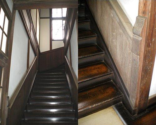 学習院・東別館階段2