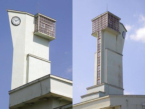 小菅刑務所・監視塔1