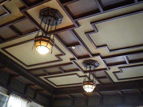 石川組・食堂天井