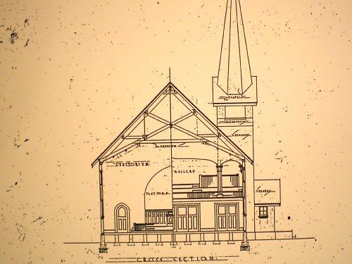 武蔵豊岡教会・図面1