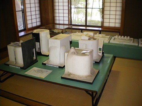 谷村美術館・模型