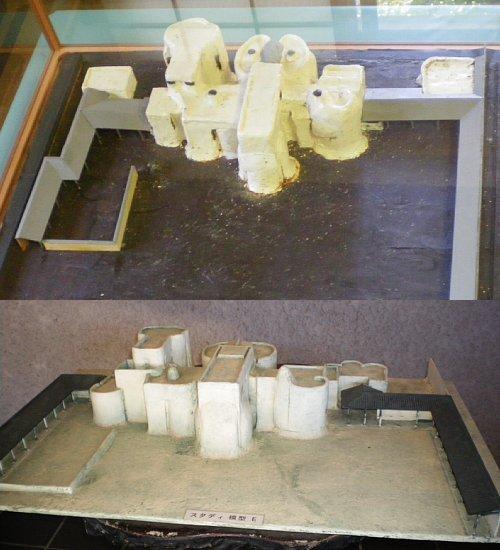 谷村美術館・模型DE