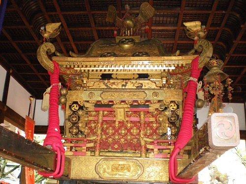 天孫神社・神輿1
