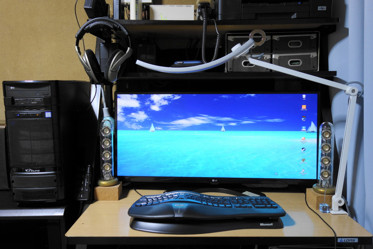 PCシステム全景