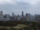 2016110611大阪城の天守閣から1