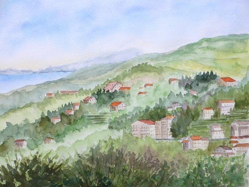 エリーコナの丘から