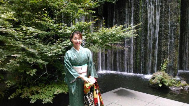 三須さん滝