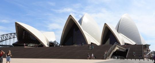 シドニー世界遺産のオペラハウス