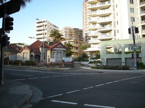 シドニー郊外風景の1