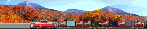 DD51貨物列車