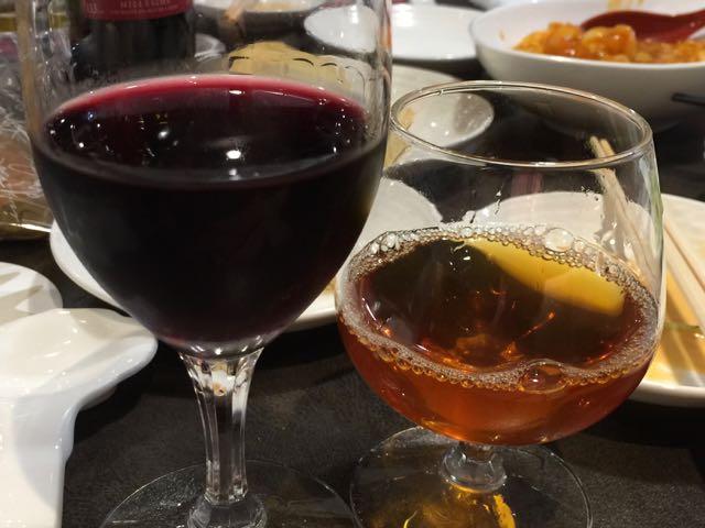 ワイン&紹興酒