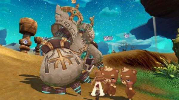基本無料の人気のクロスジョブファンタジーRPG『星界神話』 大規模レベリングマップ「修練の熱砂」を実装決定…‼