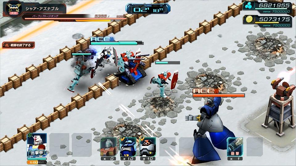 基本無料のブラウザ戦略シミュレーションゲーム『ガンダムジオラマフロント』 新バトルモード「特別任務」にパーフェクト・ジオングが登場…‼