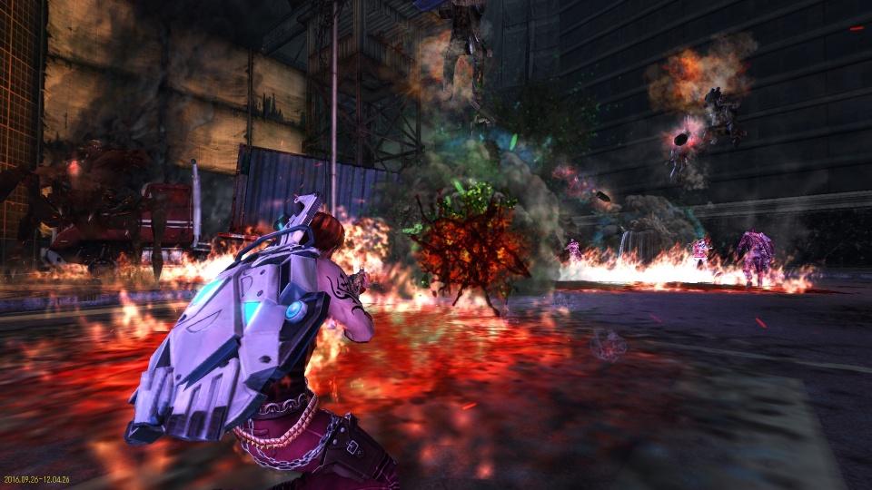 基本無料のガンシューティングオンラインゲーム『HOUNDS(ハウンズ)』 最凶ミッション「燃える夜空」を実装&レベルキャップ開放…‼