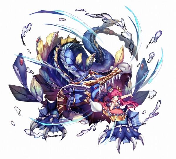 基本無料のブラウザファンタジーRPG『神姫PROJECT』 ラハブ降臨イベント開催!強力な水属性のウエポンや幻獣をGETしよう‼