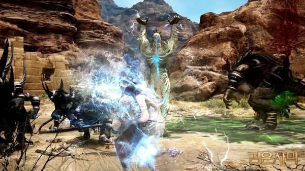 基本プレイ無料のノンターゲティングアクションRPG『黒い砂漠』 10月26日に守護者を召喚して戦うウィッチの覚醒武器「アドソウル」を実装するよ~!!