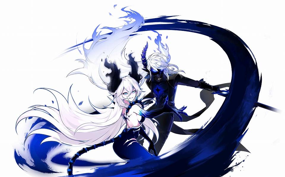 基本プレイ無料のベルトアクションオンラインゲーム『エルソード』 ル・シエルの新職業「ディアブラ」「デモニオ」を本日実装だ~!!