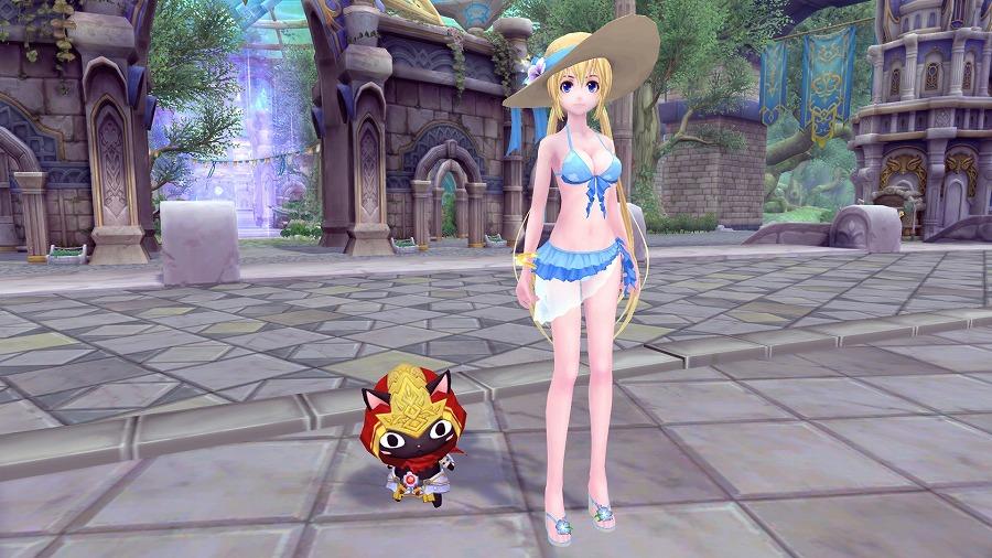 基本プレイ無料の人気のアニメチックファンタジーオンラインゲーム『幻想神域』 イベント「ピピスレース&メジェド降臨」を開催だ