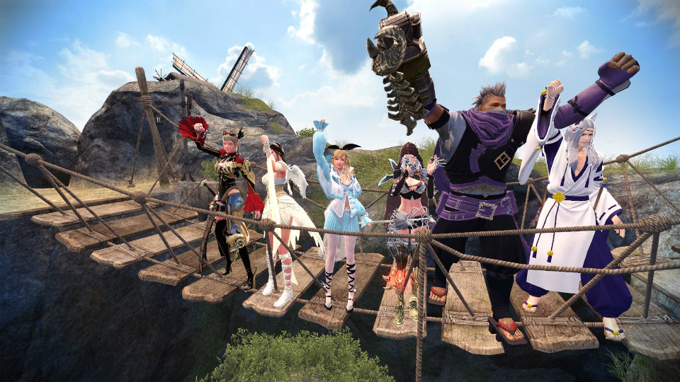 基本プレイ無料のノンターゲティングアクションRPG『マビノギ英雄伝』 アイテム、レアアバターを手にするチャンスだぞ!5月25日5月25日よりEventフェスティバルを開催だ~!