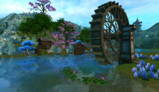 基本プレイ無料のハイファンタジーオンラインゲーム『パーフェクトワールド』 自分だけの領地を作って営むハウジングシステム(仮名)を実装決定だ!!