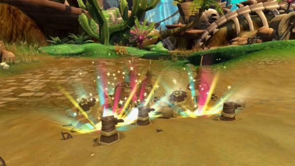基本プレイ無料のクロスジョブファンタジーRPG『星界神話』 100人対100人に大型対人戦「デザートアリーナ」を実装したぞ