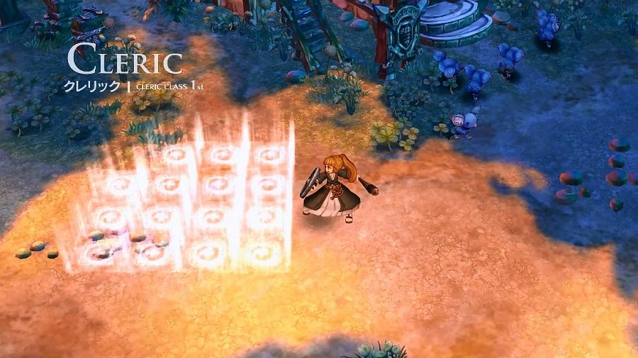 基本プレイ無料の2DファンタジーMMORPG『ツリーオブセイバー』 クラスを紹介ムービー「クレリック(1)」を公開したぞ~!!