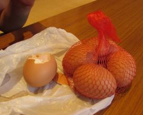 温泉卵 実食