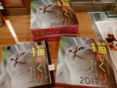 猫めくりカレンダー