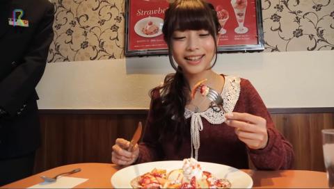 RTV#9 デニーズの季節限定『苺のデザート』を 声優の立花理香さんがリポートします!