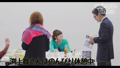 5月28日は渕上舞さんのお誕生日! サプライズケーキでお祝い!