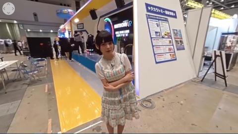 【360°動画】開催前日のおもちゃショーに上坂すみれが潜入!