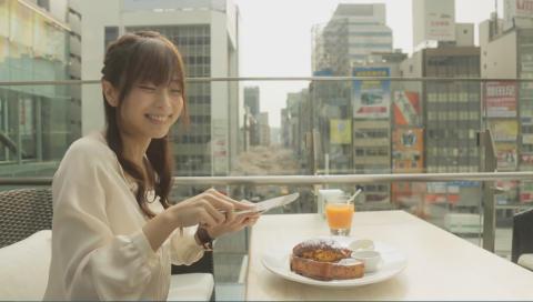 RTV:ニューヨークの朝食の女王「サラベス 東京店」を 声優の立花理香さんがリポートします!