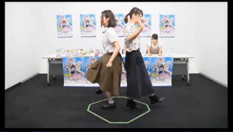 """TVアニメ『競女!!!!!!!!』放送直前 一致団""""ケツ""""ニコ生!"""