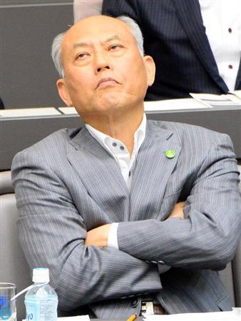 質問を受ける舛添要一東京都知事
