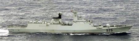 中国海軍のフリゲート艦